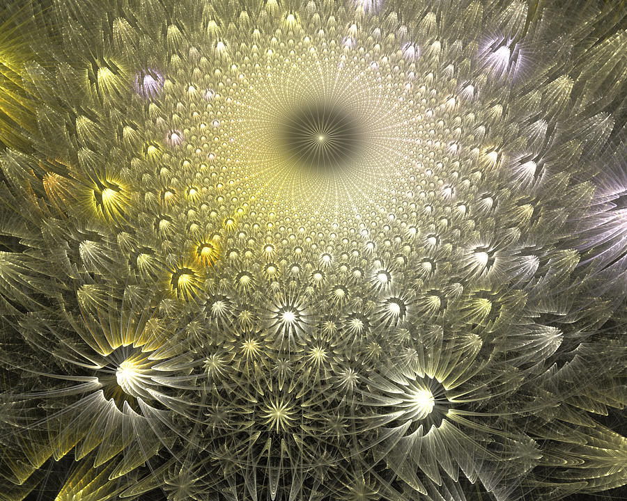 Fractal Digital Art - Dream On Little Dreamer by Drake Lock