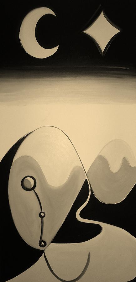 Sepia Painting - Dream Sepia by Cory Green