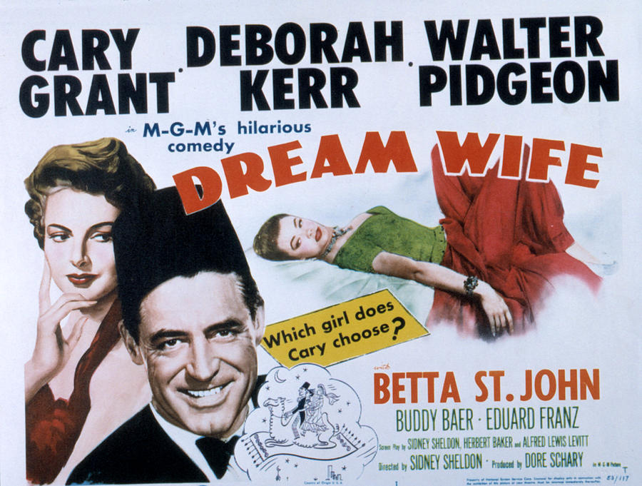 Compete Photograph - Dream Wife, From Left Deborah Kerr by Everett
