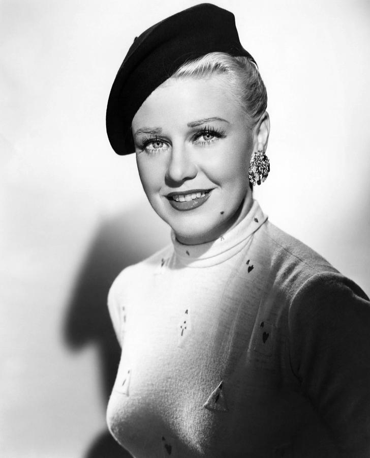Beret Photograph - Dreamboat, Ginger Rogers, 1952 by Everett