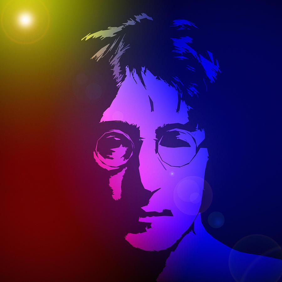 John Lennon Dreamer Not The Only One Beatle Beatles Song Songwriter Dream Digital Art - Dreamer by Steve K