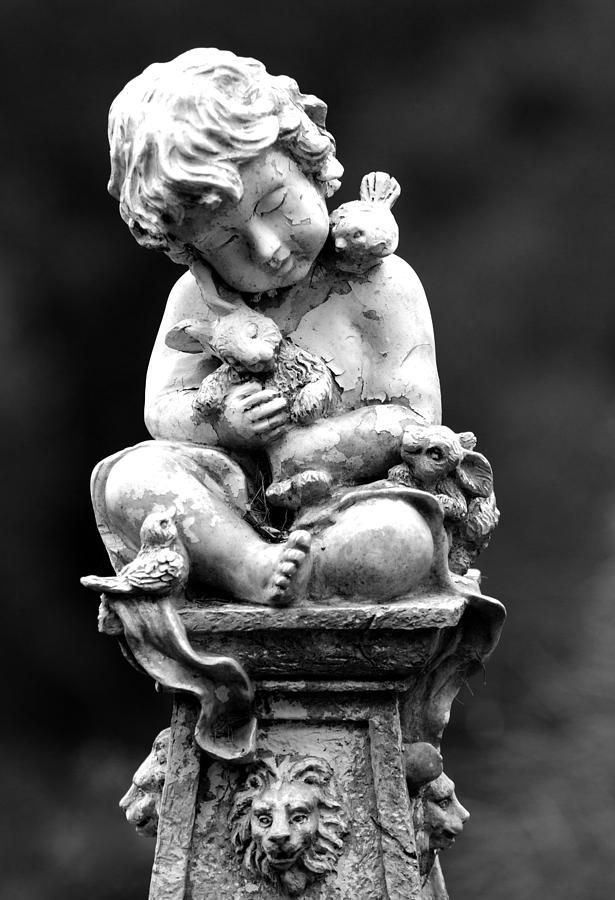 Statue Photograph - Dreams by David Lester