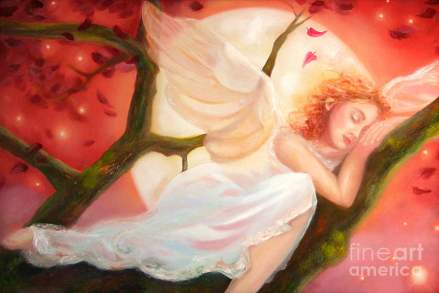 Dreams of Strawberry Moon by Michael Rock