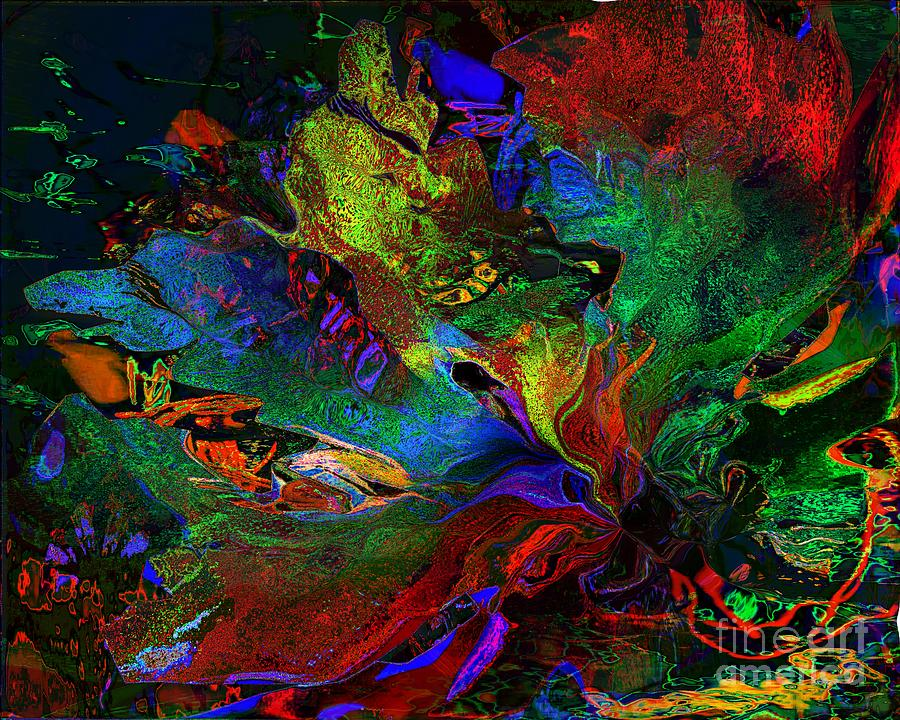 Dreams Digital Art - Dreamscape Abstract Number Five by Doris Wood