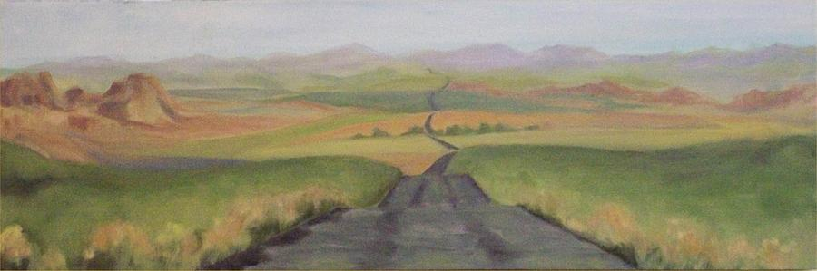 Landscape Painting - Dreamscape by Irene Corey