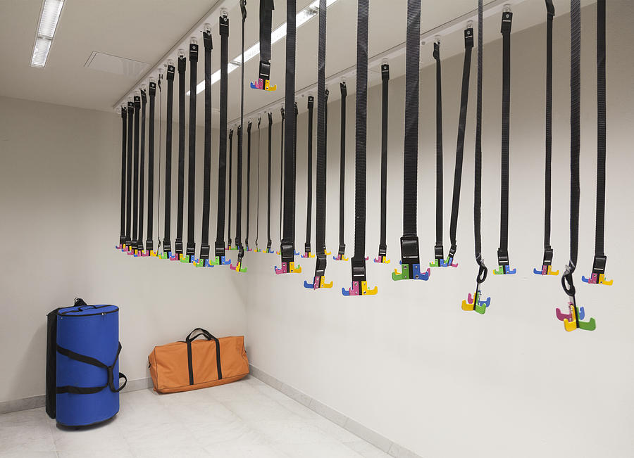 Charmant Empty Photograph   Dressing Room With Modern Coat Hooks By Jaak Nilson