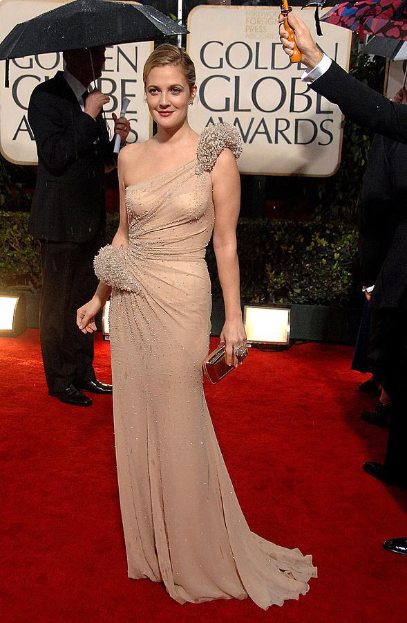 Drew Barrymore Photograph - Drew Barrymore Wearing An Atelier by Everett