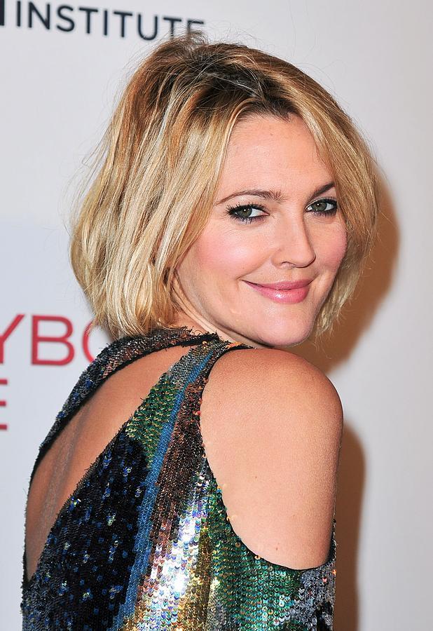 Premiere Photograph - Drew Barrymore Wearing Pucci by Everett