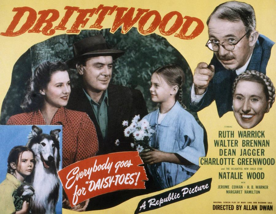 1940s Movies Photograph - Driftwood, Ruth Warrick, Dean Jagger by Everett