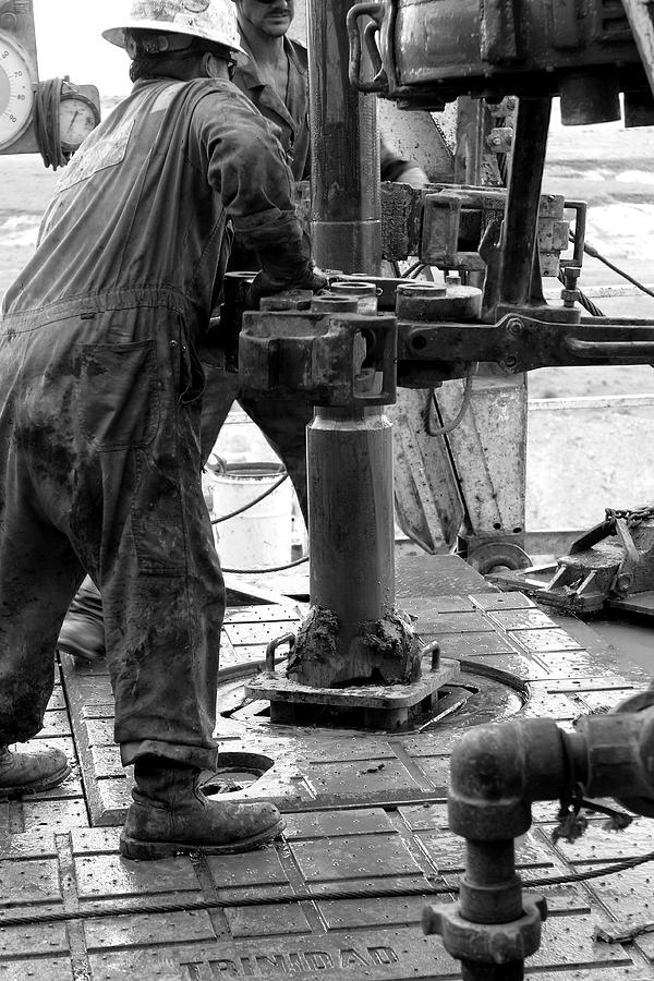 Drill Bit Photograph - Drilling For Gold by Jason Drake