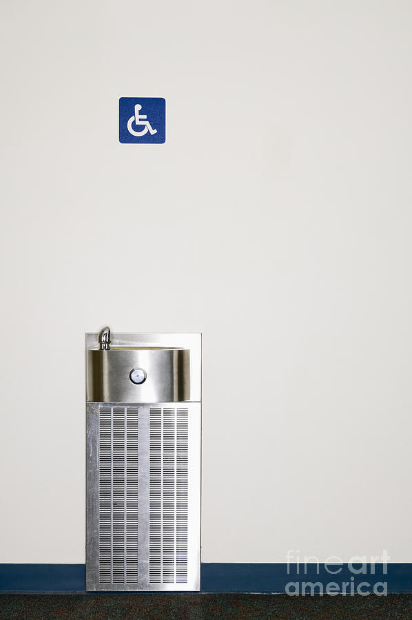 Access Photograph - Drinking Fountain by Andersen Ross