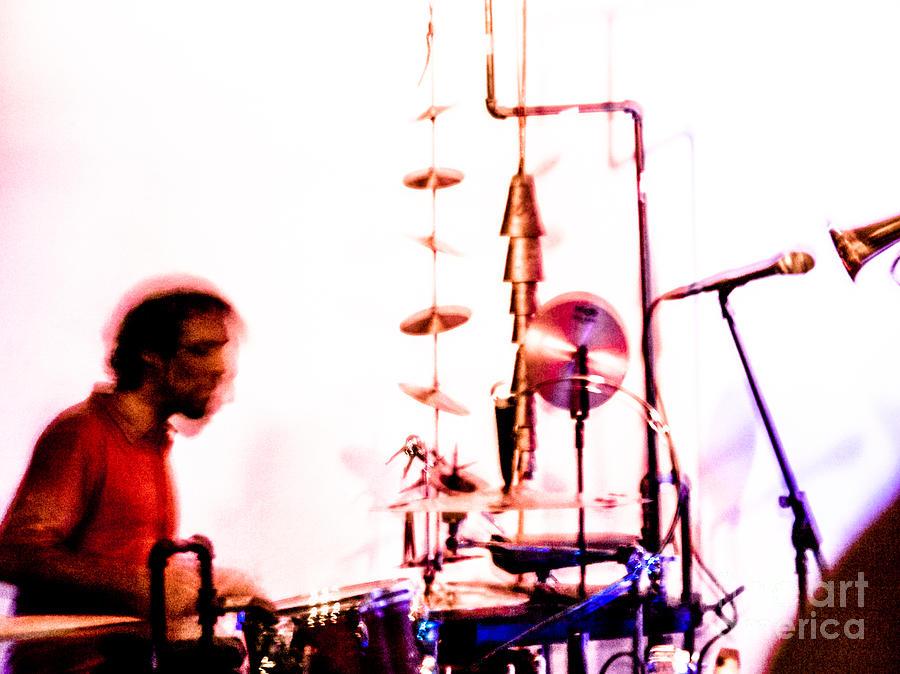 Droid Photograph - Droid - Drums Amir Ziv by Jim DeLillo