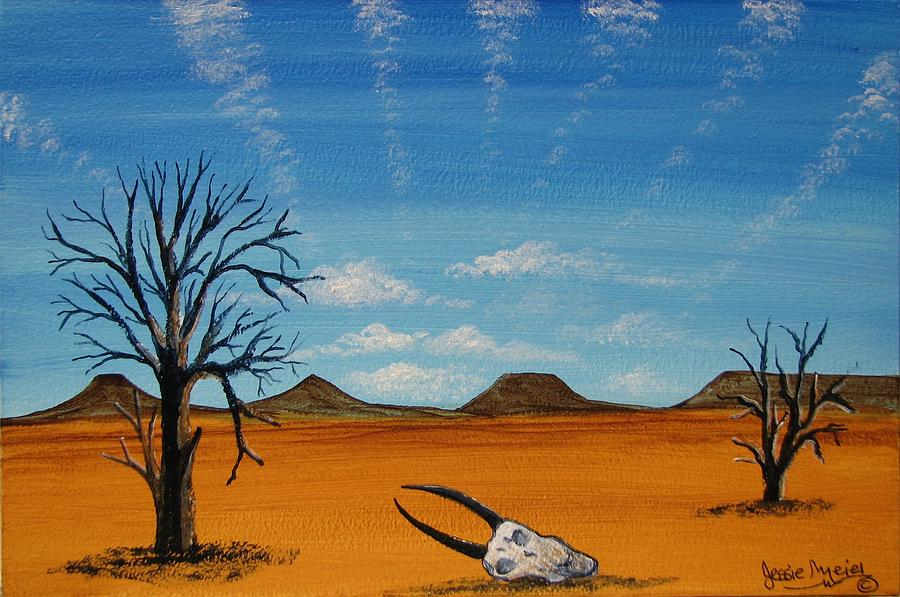Drought In Our Land 4444 Painting By Jessie Meier