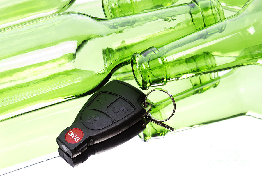 Drink Photograph - Drunk Driving by Blink Images