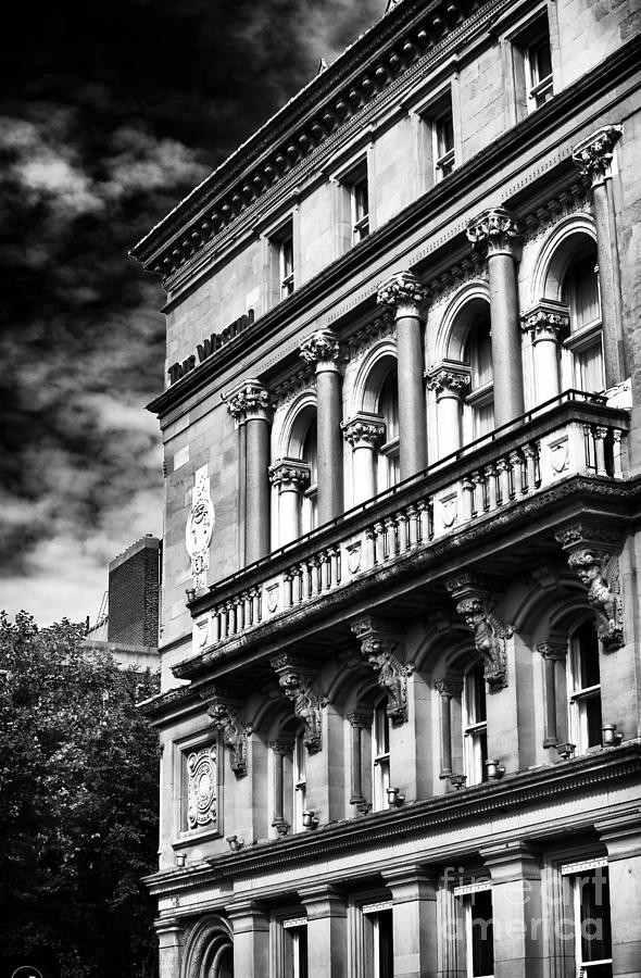 Architecture Photograph - Dublin Architecture by John Rizzuto
