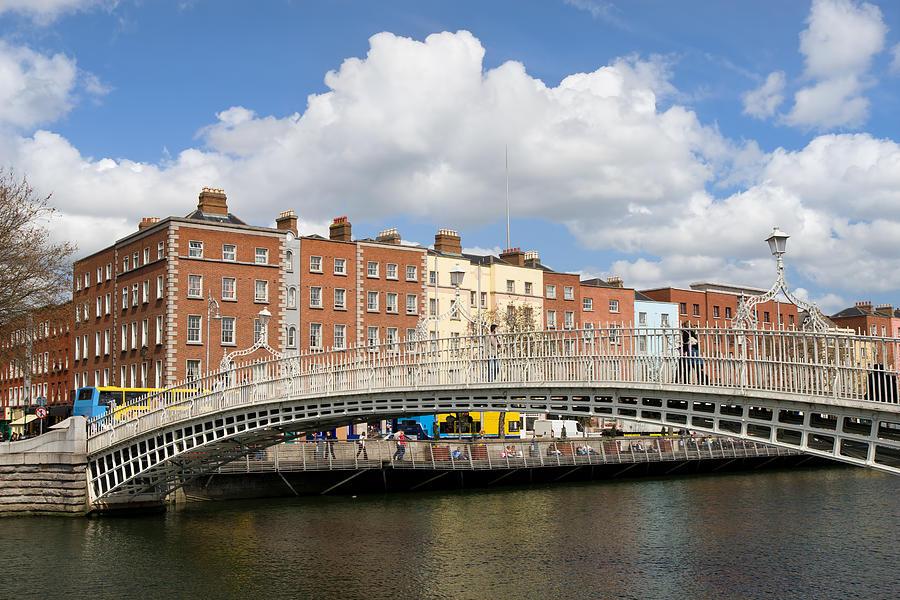 Architecture Photograph - Dublin Scenery by Artur Bogacki