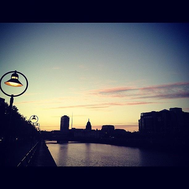 Dublin Photograph - #dublin Skyline!! #photography by David Lynch