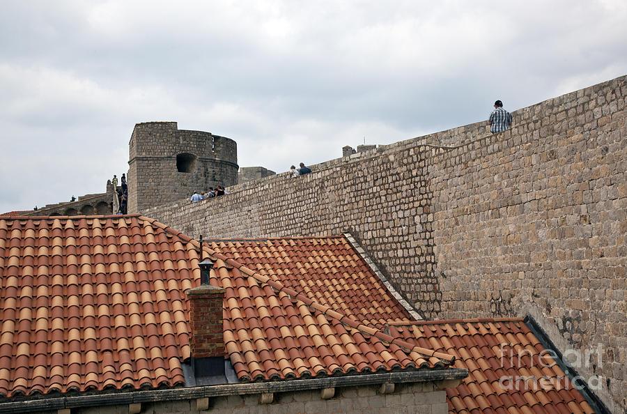 Dubrovnik Photograph - Dubrovnik View 4 by Madeline Ellis