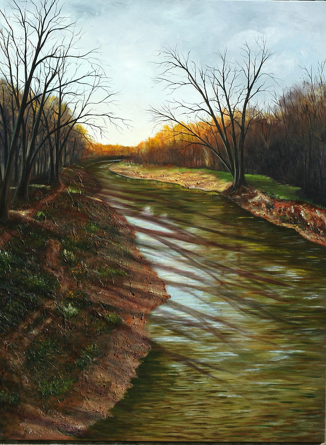Ajax Painting - Duffins Creek Ajax by Sharon Steinhaus