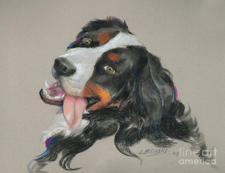 Pastel Pastel - Duncan by Mary Machare