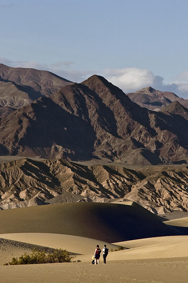 Walkers Photograph - Dunes Of Death Valley by Wes and Dotty Weber
