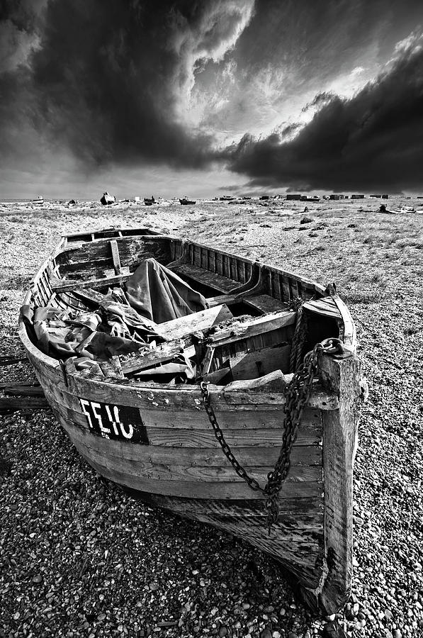 Dungeness Photograph - Dungeness Decay by Meirion Matthias