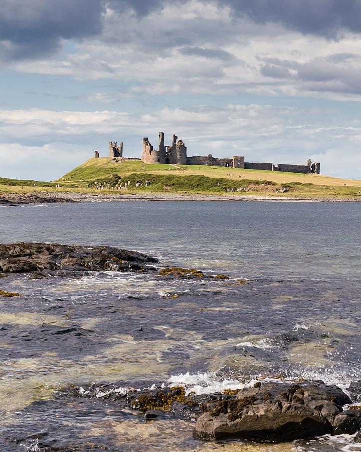 Dunstanburgh Castle by David Nicholls