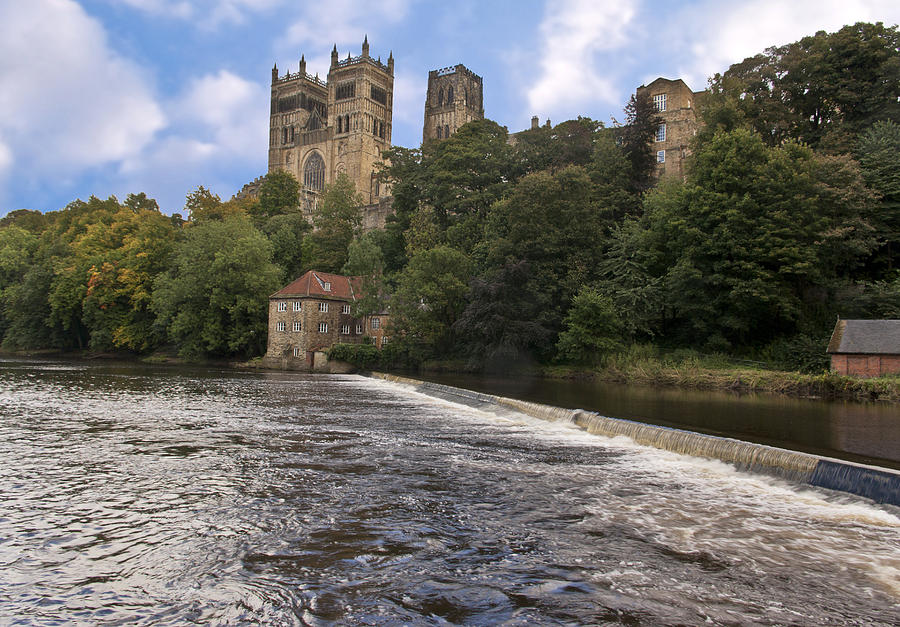 Durham Cathedral Canvas Photograph - Durham Cathedral by Trevor Kersley