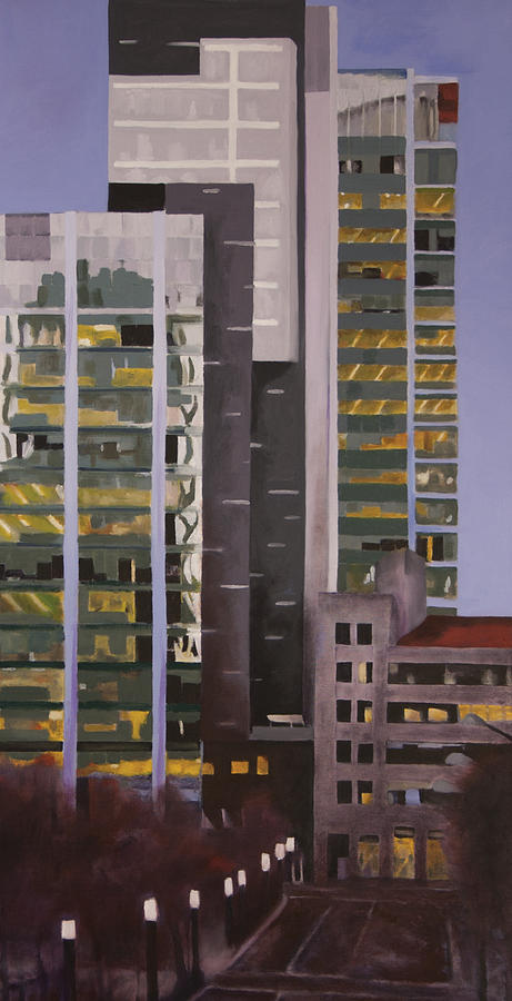 Urban Painting - Dusk by Duane Gordon