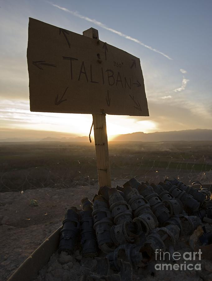 Afghanistan Photograph - Dutch Island in Taliban Territory by Unknown