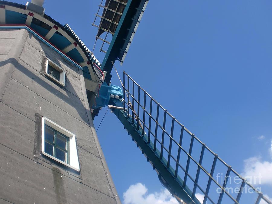 Windmill Photograph - Dutch Windmill by Anastasis  Anastasi