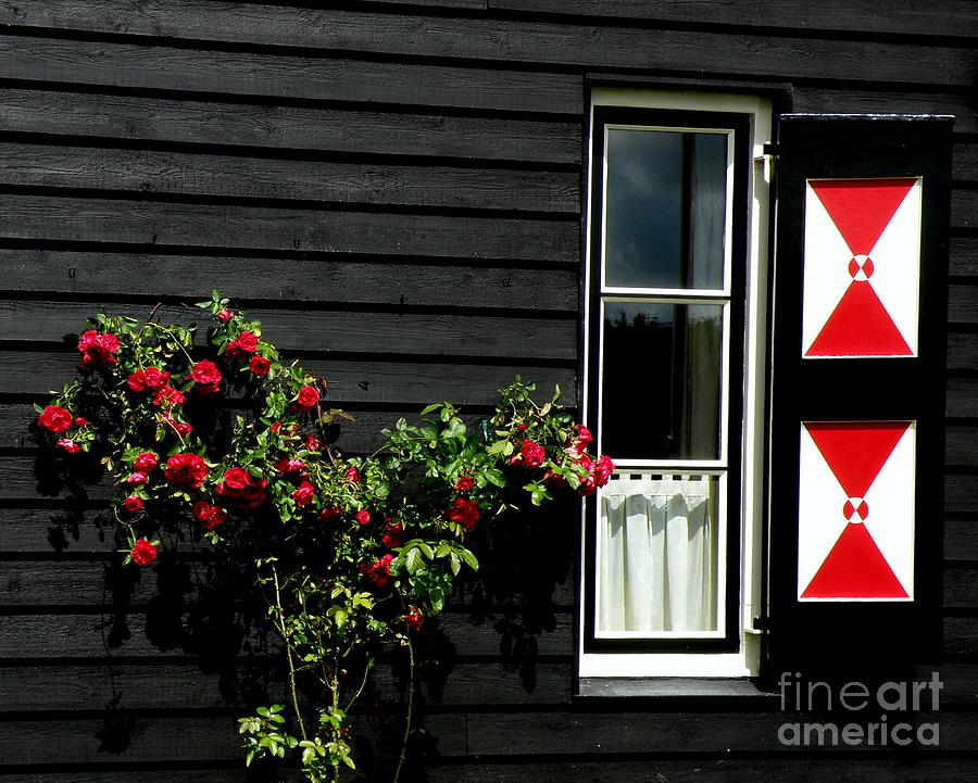 Holland Photograph - Dutch Window by Lainie Wrightson