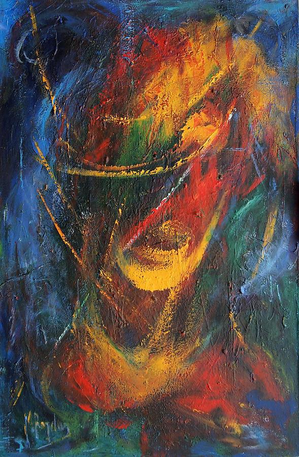 Venezuela Painting - Dynamism  by Marina R Burch