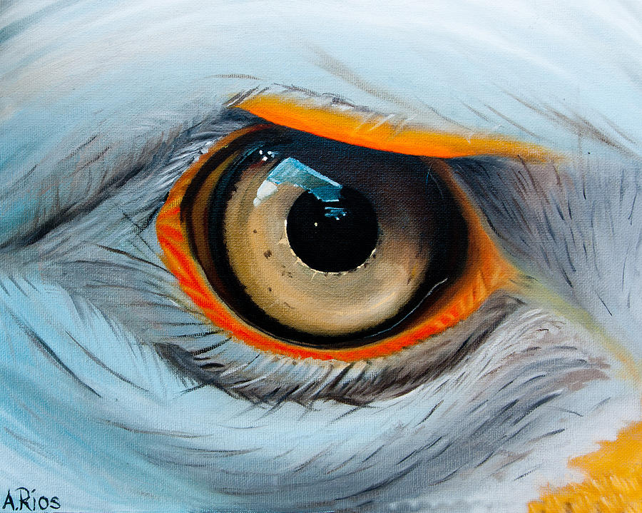 Eye Acrylic Painting
