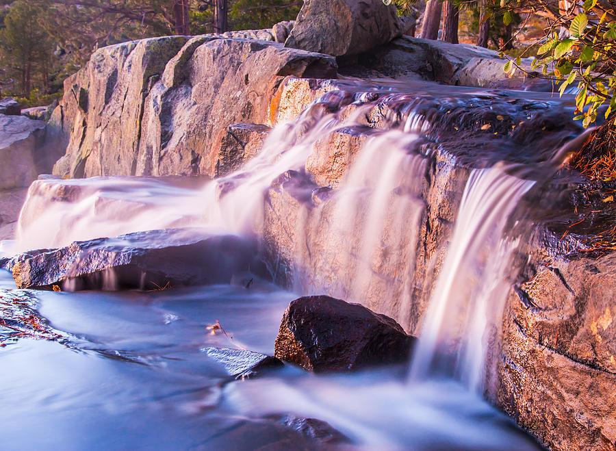 Eagle Falls At Sunrise Photograph
