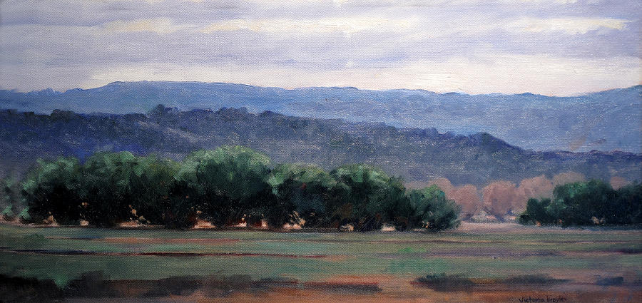 Eagle Ranch Painting by Victoria  Broyles