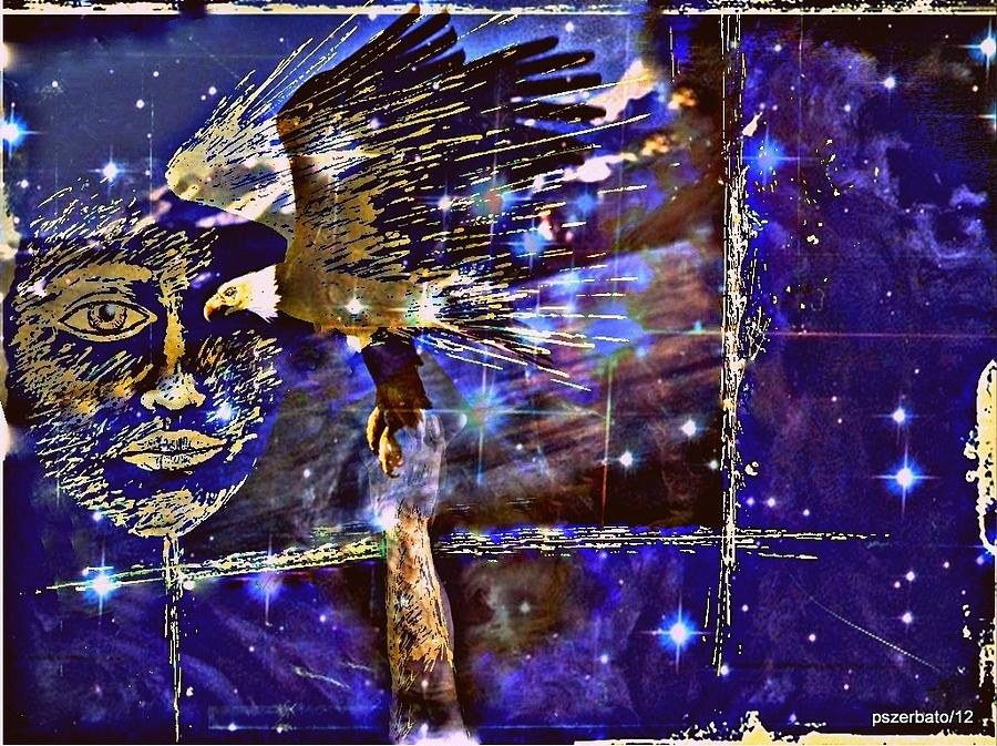 Youth Service Digital Art - Eagle What Loves Heights And Have Confidence In Your Talon by Paulo Zerbato