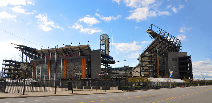 Eagles - The Linc Photograph - Eagles - The Linc by Bill Cannon