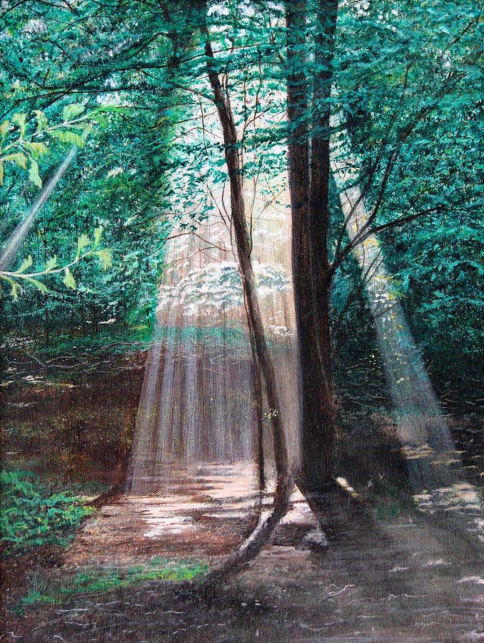 Painting - Early Morning Sunrise by Stuart B Yaeger