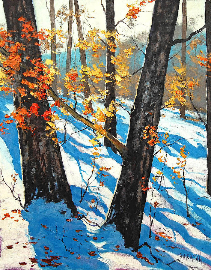 Winter Painting - Early Winter by Graham Gercken
