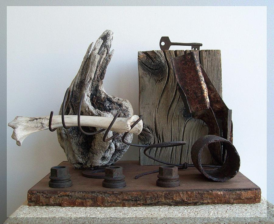 Sculpture Sculpture - Earth Radio by Snake Jagger