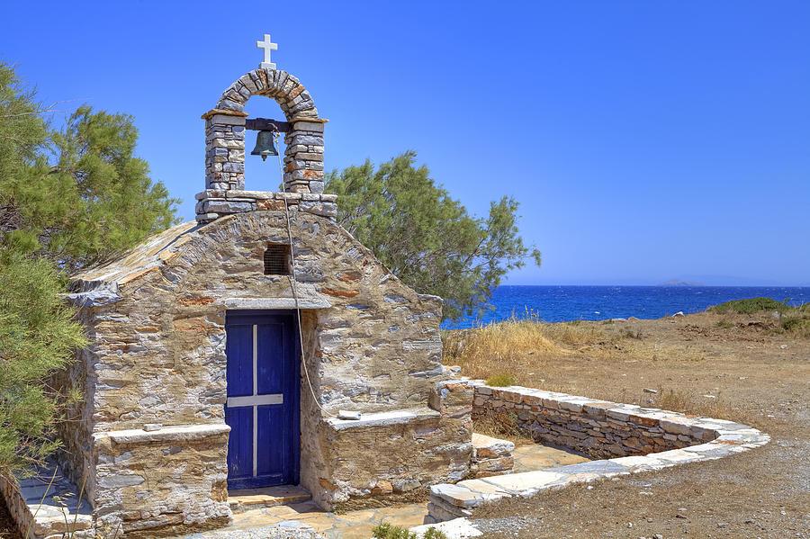 Naxos Photograph - east coast Naxos by Joana Kruse