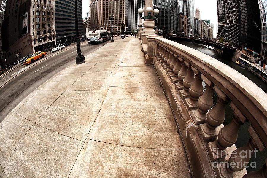 Street Photograph - East Wacker by John Rizzuto