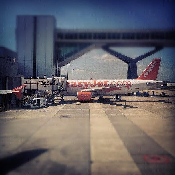 Easyjet Photograph - #easyjet #gatwick #airplane #airport by Abdelrahman Alawwad