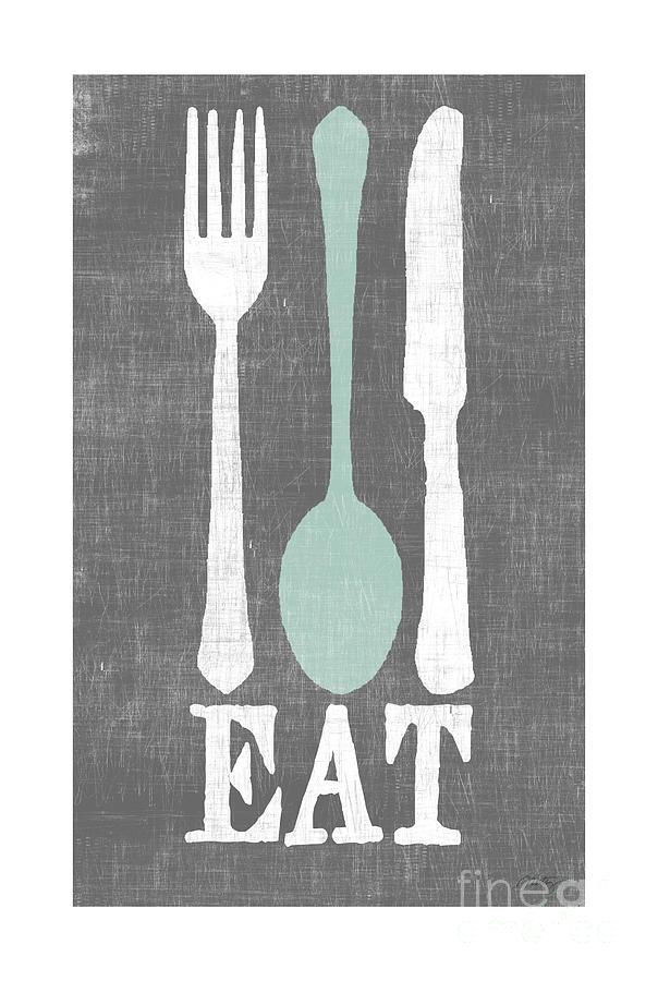 Eat Digital Art - EAT by Misty Diller