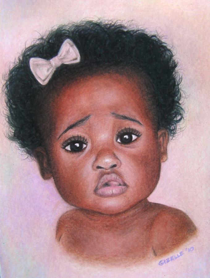 Black Girl Natural Hair Drawings