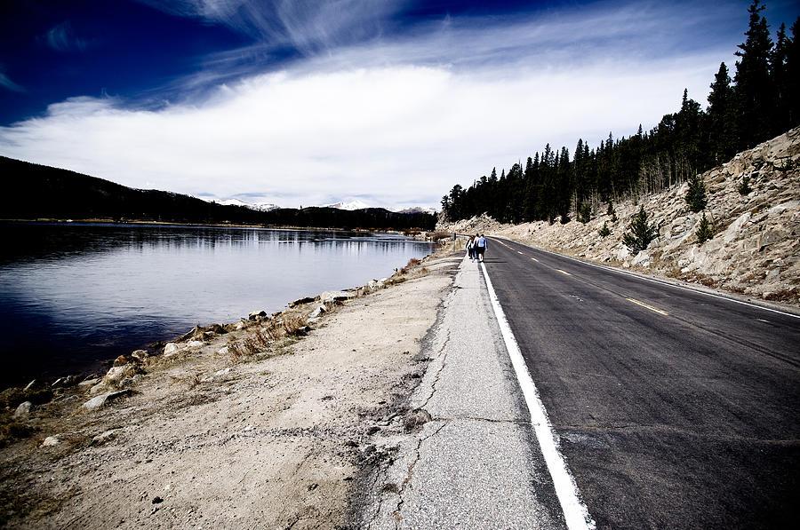 Echo Lake Photograph - Echo Lake Road by Sam Neumann