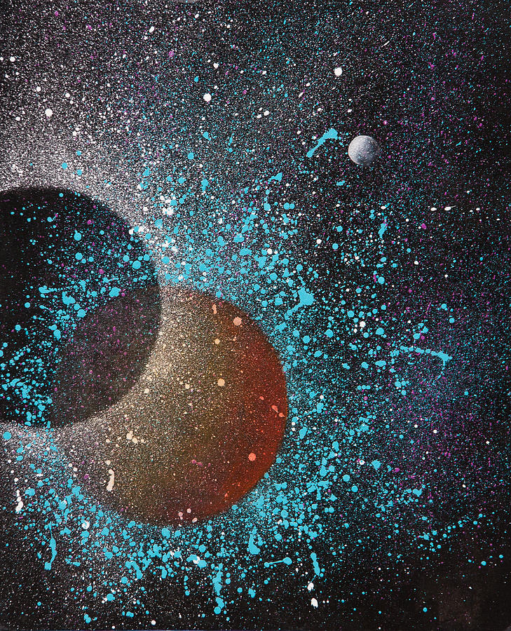 Art Painting - Eclipse by Reina Cottier