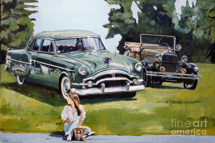 Auto Painting - Eden by Deb Putnam