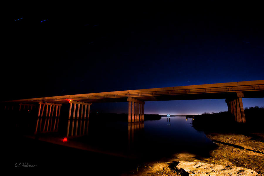 Bridge Photograph - Edge Of Morning by Christopher Holmes